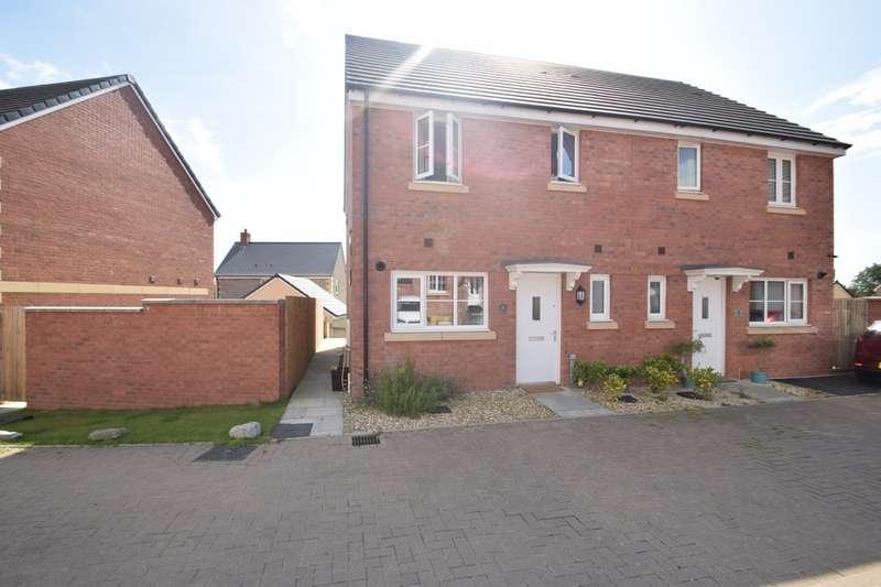 3 Bedrooms Semi Detached House for sale in 6 Maes Meillion, Coity, Bridgend, Bridgend County Borough