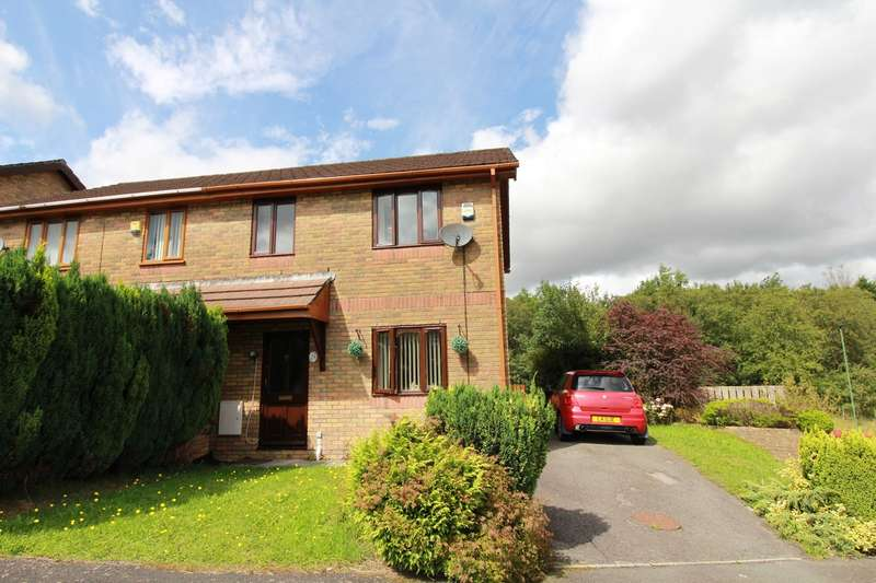 3 Bedrooms Semi Detached House for sale in Willow Close, EBBW VALE, NP23