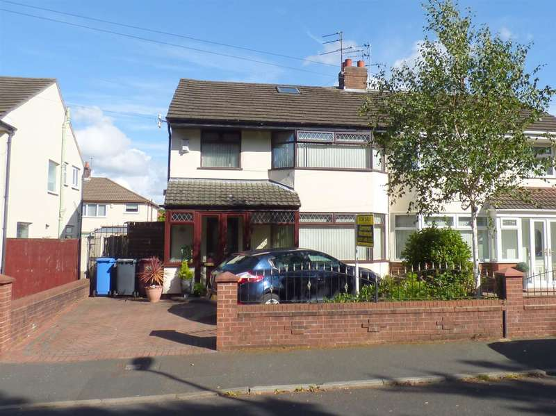 3 Bedrooms Semi Detached House for sale in Oak Road, Huyton, Liverpool