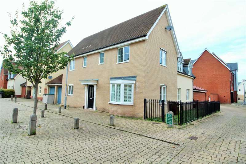 4 Bedrooms Detached House for sale in John Hammond Close, Colchester