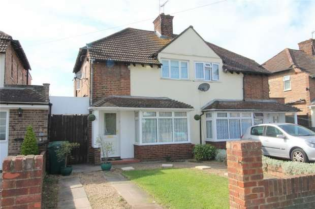 3 Bedrooms Semi Detached House for sale in Desford Way, Ashford, Middlesex