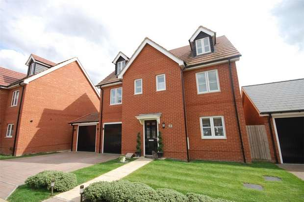 5 Bedrooms Detached House for sale in Freyberg Drive, Aylesbury, Buckinghamshire