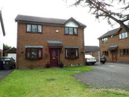 3 Bedrooms Detached House for sale in Ashfields, Leyland, Lancashire, PR26
