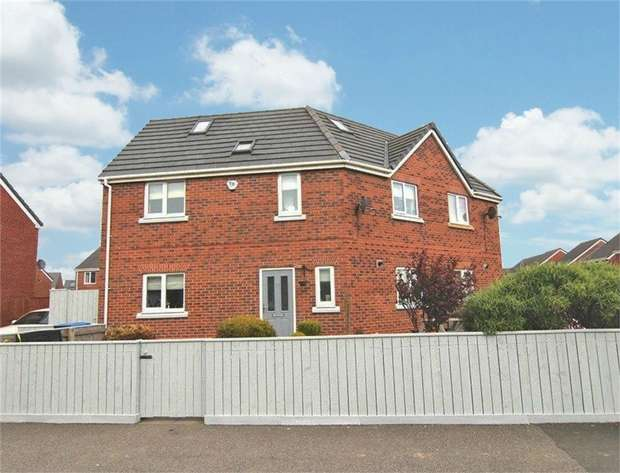 5 Bedrooms Semi Detached House for sale in Prince Charles Avenue, Bowburn, Durham