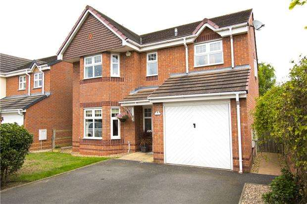 5 Bedrooms Detached House for sale in Banquo Approach, Heathcote, Warwick