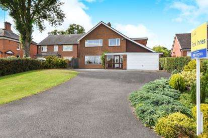 4 Bedrooms Detached House for sale in Anslow Lane, Rolleston-On-Dove, Burton-On-Trent, Staffordshire