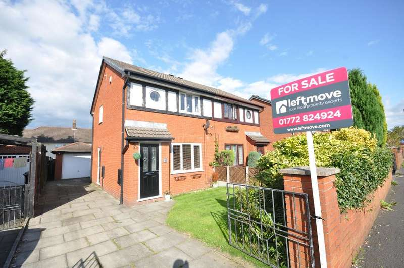 2 Bedrooms Semi Detached House for sale in Ribbleton Hall Drive, Ribbleton, Preston, Lancashire, PR2 6EE