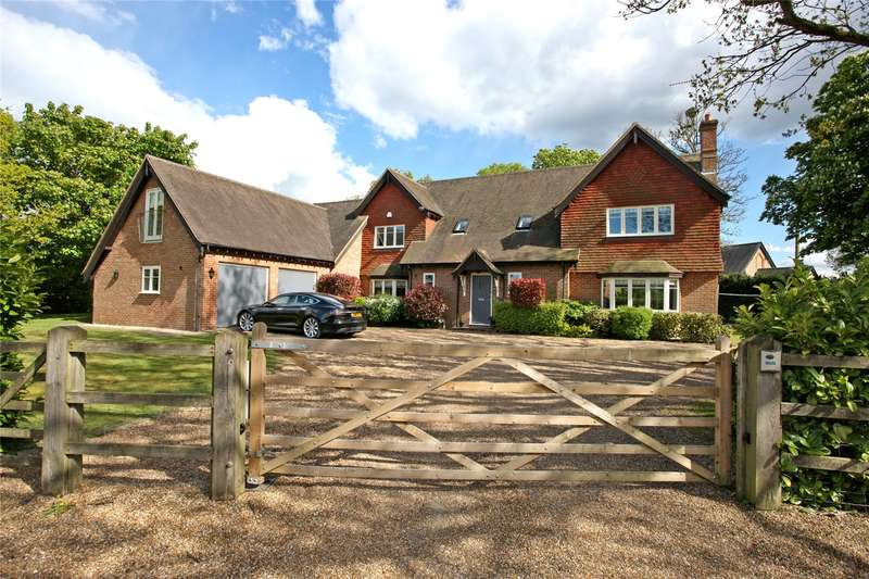 5 Bedrooms Detached House for sale in Wishanger Lane, Churt, Farnham, Surrey, GU10