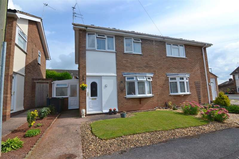 2 Bedrooms Semi Detached House for sale in Gough Close, Stafford