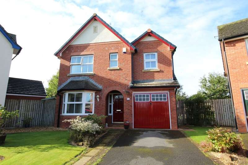 3 Bedrooms Detached House for sale in The Paddocks, Thursby, Carlisle, CA5