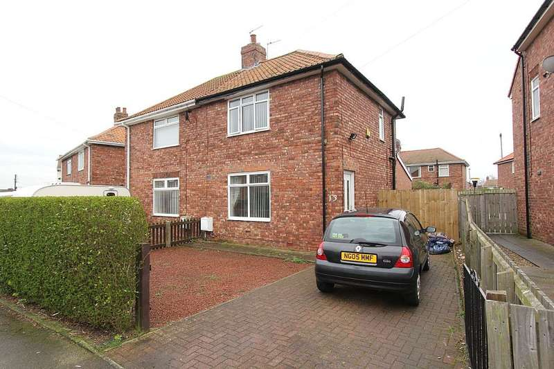 2 Bedrooms Semi Detached House for sale in Hawthorn Crescent, Hawthorn Cres, Tyne and Wear, NE38