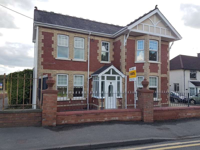 3 Bedrooms Detached House for sale in Woodland Road, Croesyceiliog, CWMBRAN, NP44