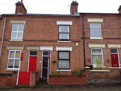 2 Bedrooms Terraced House for sale in Ivanhoe Street, Newfoundpool, Leicester, Leicestershire