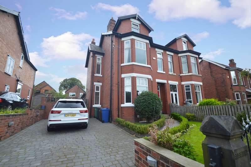 5 Bedrooms Semi Detached House for sale in Rosebury, Langley Road, Prestwich, Manchester, M25