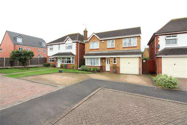 4 Bedrooms Detached House for sale in Homeward Way, Coventry