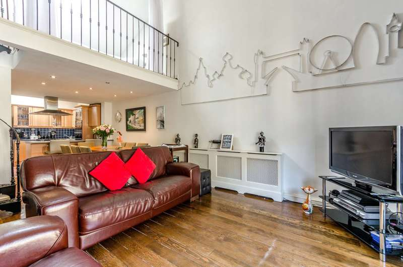 2 Bedrooms Flat for sale in Breezers Court, Wapping, E1W