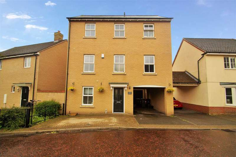 4 Bedrooms Town House for sale in Agnes Silverside Close, Colchester
