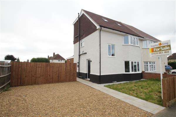 4 Bedrooms Semi Detached House for sale in St Andrews Way, Cippenham