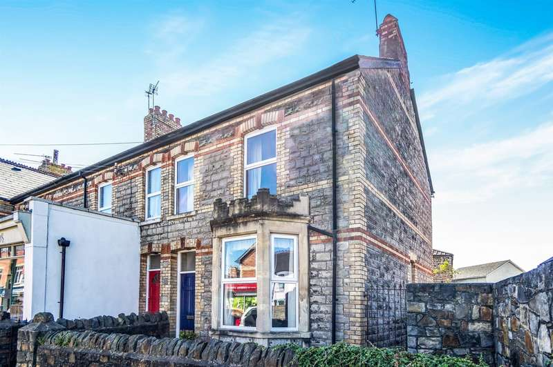 3 Bedrooms End Of Terrace House for sale in Cornerswell Road, Penarth