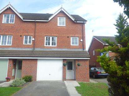 4 Bedrooms Semi Detached House for sale in Brackenwood Avenue, Widnes, Cheshire, WA8