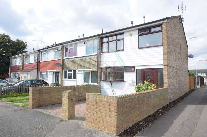 3 Bedrooms End Of Terrace House for sale in Kenneth Road, Basildon