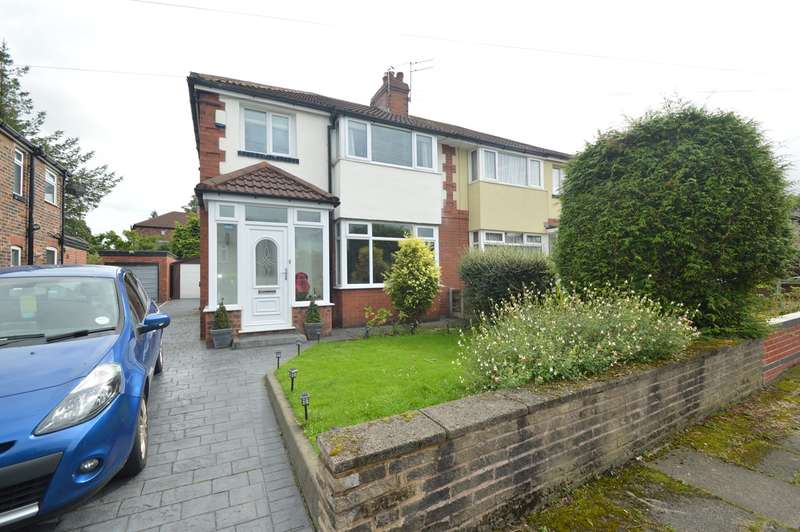 3 Bedrooms Semi Detached House for sale in Derby Road, Whitefield, Manchester, M45