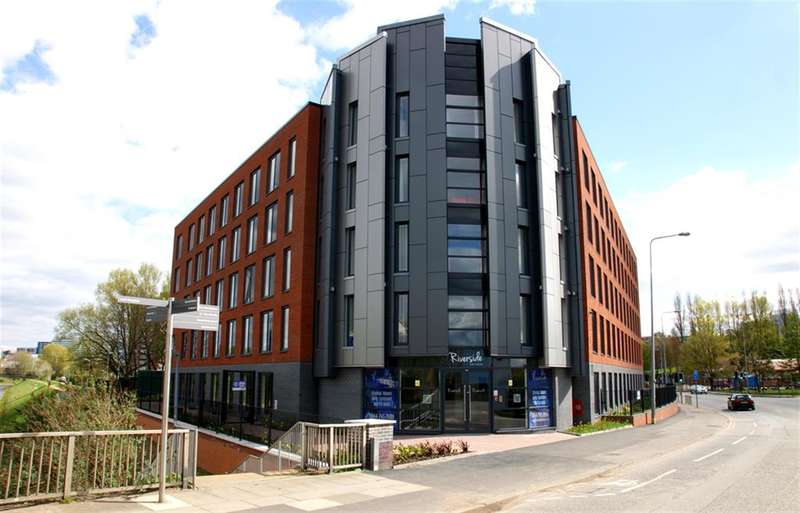 1 Bedroom Studio Flat for sale in Riverside House, 100 Blackfriars Road, Salford, M3 7FU