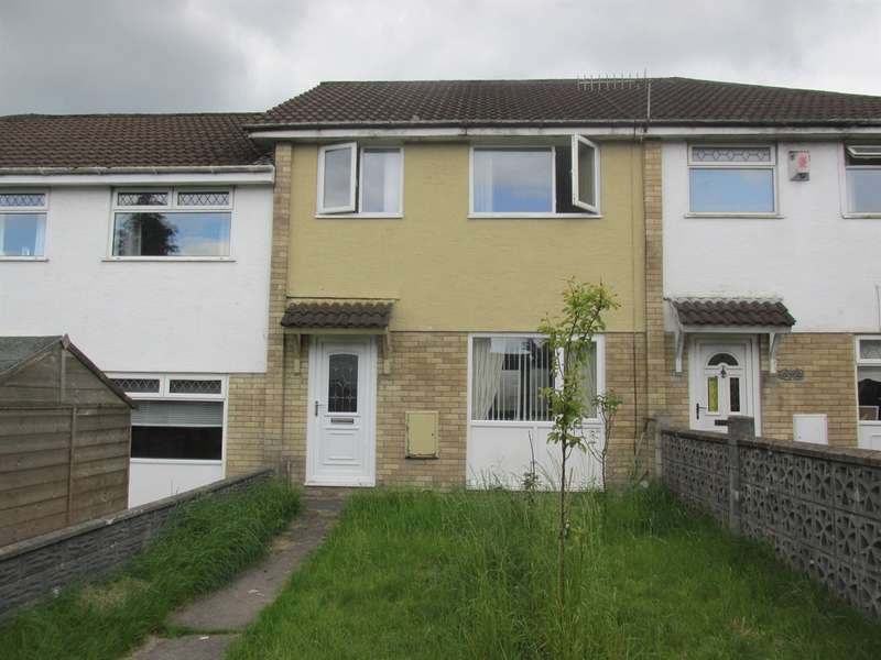 3 Bedrooms Terraced House for sale in Kidwelly Grove, Castle Park, Merthyr Tydfil