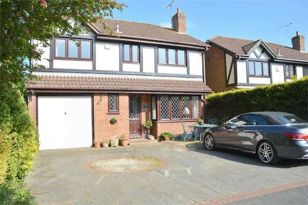 4 Bedrooms Detached House for sale in Isaacs Close, Talbot Village, Poole