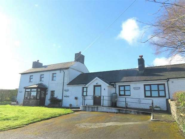 5 Bedrooms Detached House for sale in Maesycrugiau, Pencader, Carmarthenshire