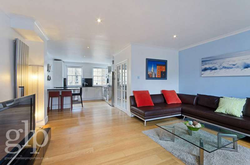 2 Bedrooms Flat for sale in Monmouth Street, London, WC2H