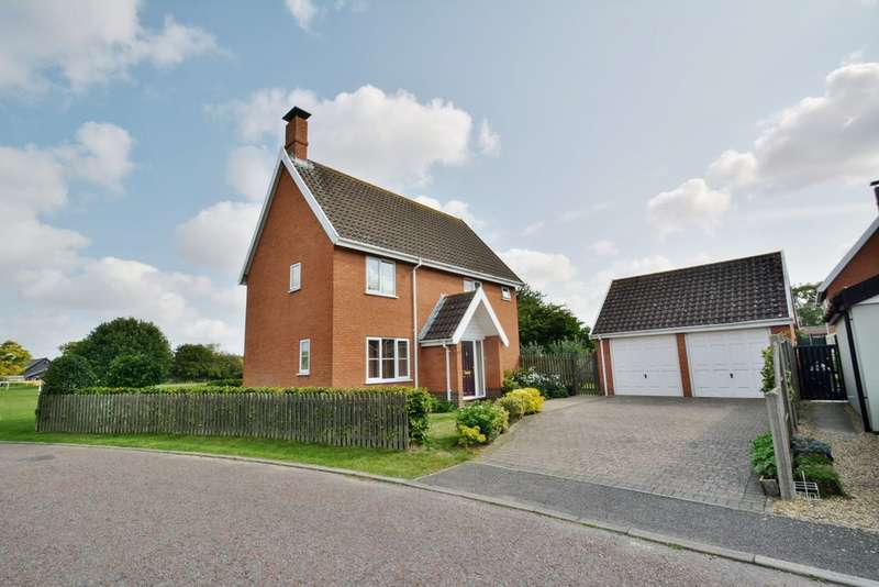 4 Bedrooms Detached House for sale in St Johns Meadow, Metfield