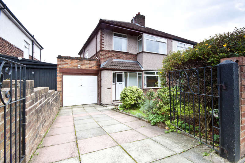3 Bedrooms Semi Detached House for sale in Manor Road, Woolton, Liverpool, L25