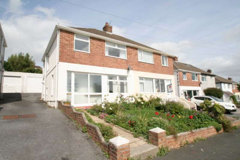 3 Bedrooms Semi Detached House for sale in Crossway, Plympton