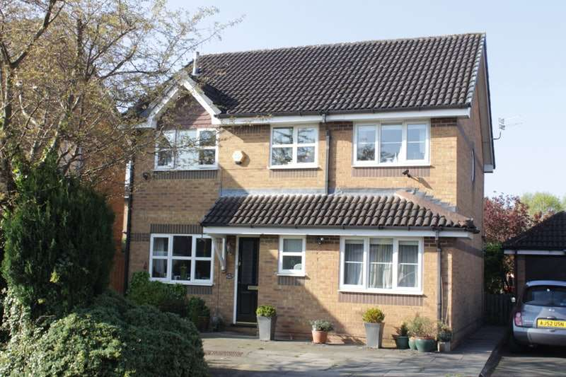4 Bedrooms Detached House for sale in Pennymoor Drive, Altrincham, Cheshire, WA14