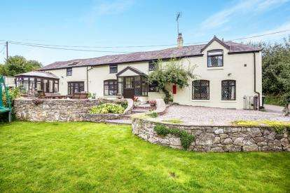 4 Bedrooms Detached House for sale in Pen-Y-Felin, Nannerch, Mold, Flintshire, CH7