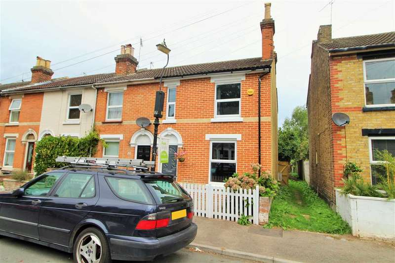 3 Bedrooms End Of Terrace House for sale in Harsnett Road, New Town, Colchester