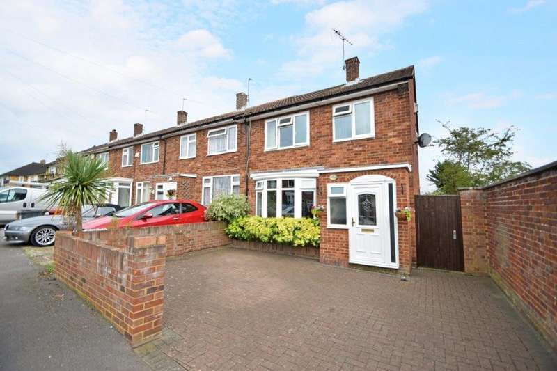 3 Bedrooms End Of Terrace House for sale in Crayle Street, Slough, SL2