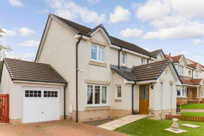 3 Bedrooms Semi Detached House for sale in Westdale Drive, Moodiesburn, Glasgow, North Lanarkshire