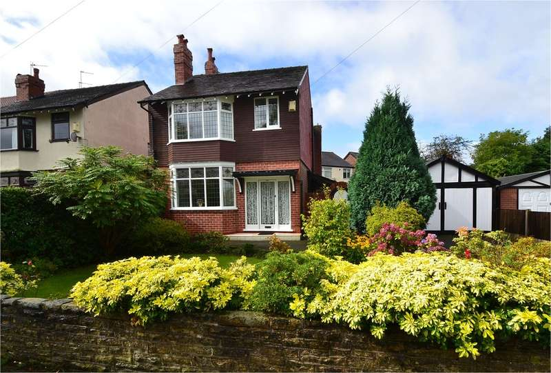 3 Bedrooms Detached House for sale in Dialstone Lane, Great Moor/Hazel Grove border SK2 7LE