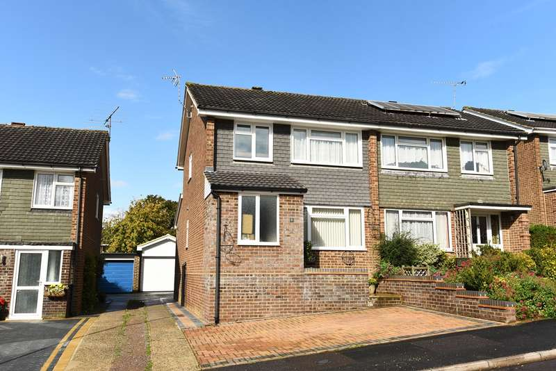 3 Bedrooms Semi Detached House for sale in Grainger Close, Brighton Hill, Basingstoke, RG22