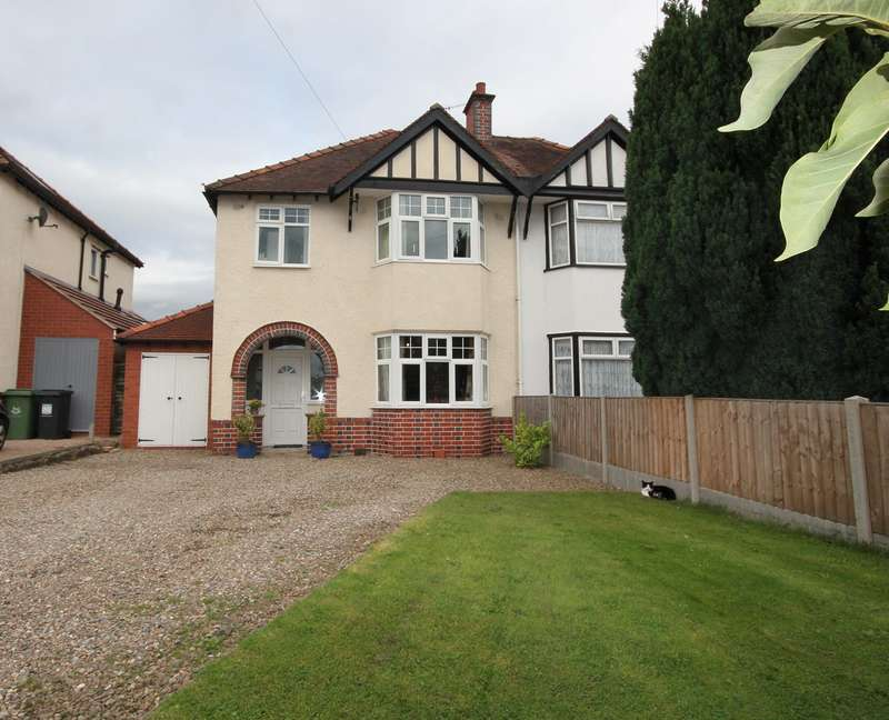3 Bedrooms Semi Detached House for sale in Ombersley Road, Worcester, WR3