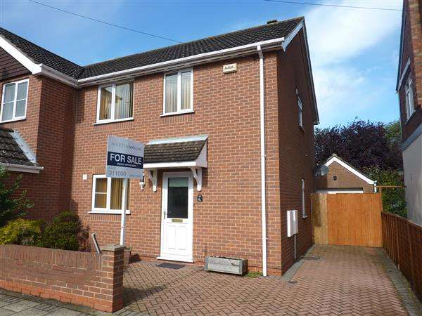3 Bedrooms Semi Detached House for sale in SPURN AVENUE, SCARTHO, GRIMSBY