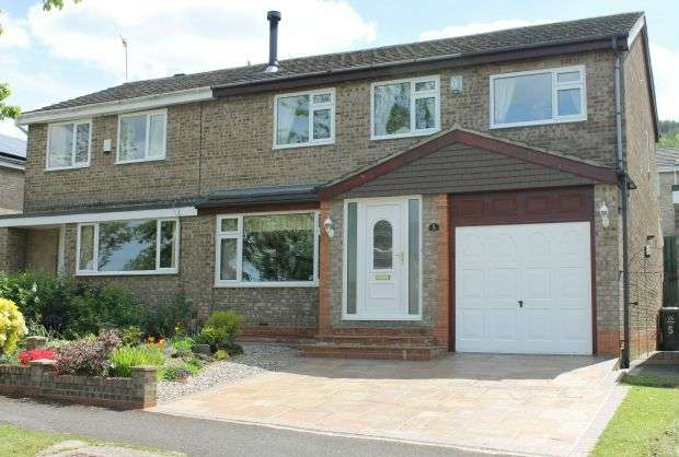 3 Bedrooms Semi Detached House for sale in Enfield Chase, Belmont Park, Guisborough