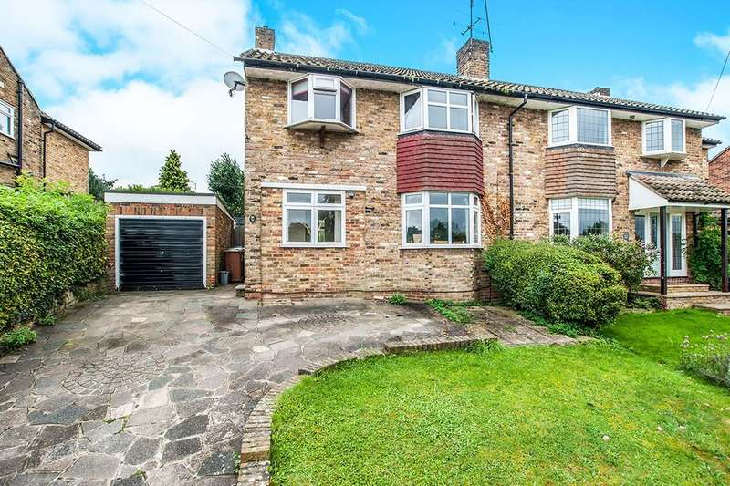3 Bedrooms Semi Detached House for sale in Kindersley Way, Abbots Langley, WD5
