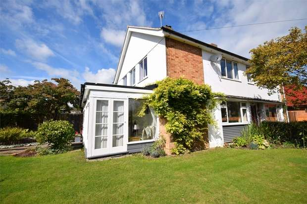3 Bedrooms Semi Detached House for sale in Knighton Road, Otford, Sevenoaks, Kent