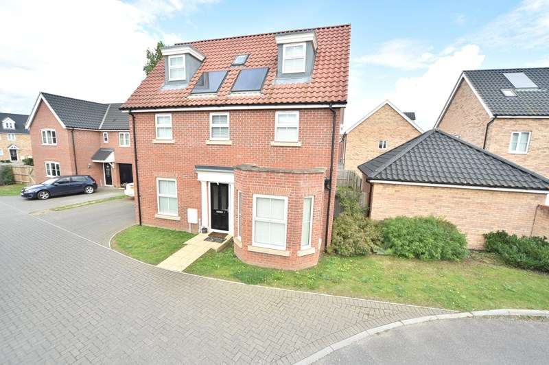 5 Bedrooms Detached House for sale in Dairy Drive, Beck Row, Bury St. Edmunds