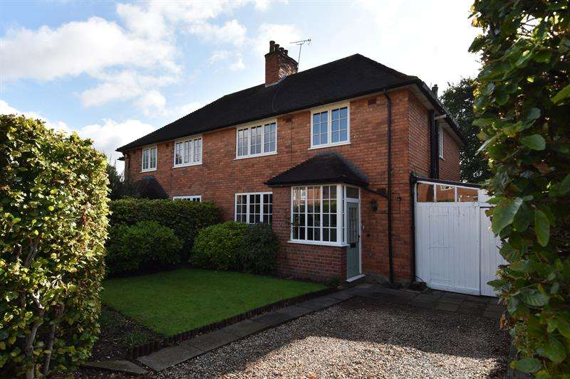 3 Bedrooms Semi Detached House for sale in Weoley Hill, Bournville Village Trust, Selly Oak