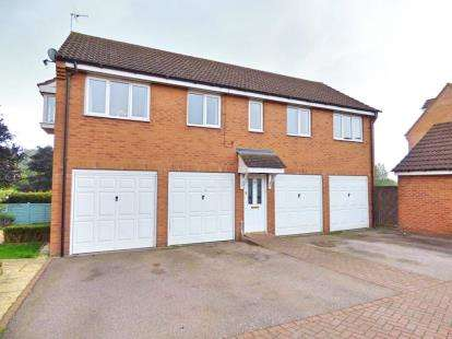 2 Bedrooms Detached House for sale in Creswell Place, Cawston, Rugby