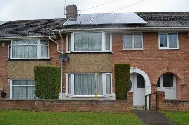 3 Bedrooms Terraced House for sale in Fairway, Kingsley, Northampton NN2 7JY